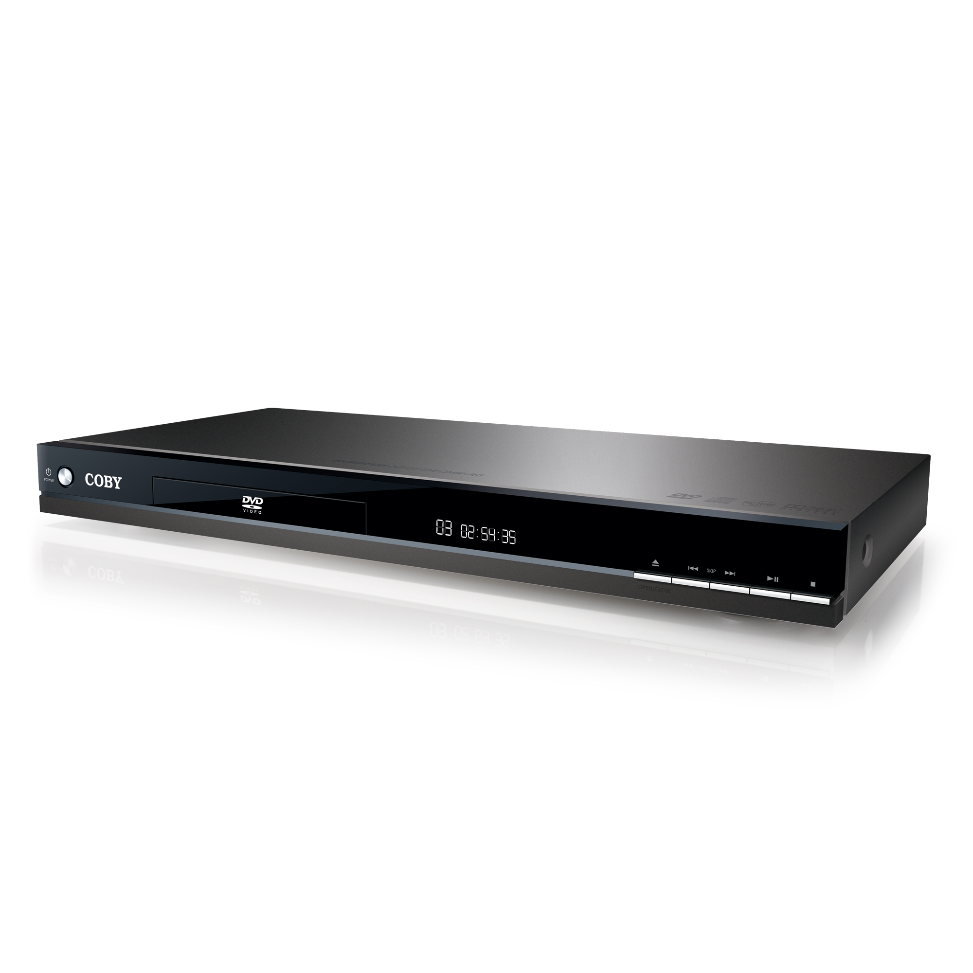 Coby dvd288 dvd 2channel 1080p hdmi output