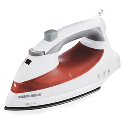 B&d f920 iron steam spray non stick 1200w 10ft cord