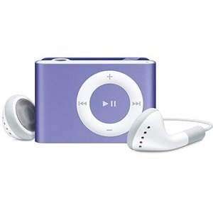 Apple iPod shuffle 1 GB Purple, Clamshell Package (2nd Generation)