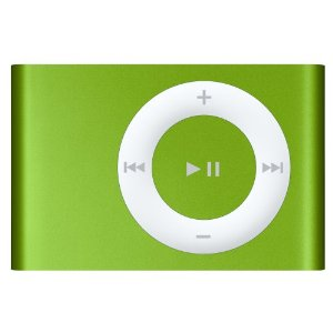 Apple iPod shuffle 2 GB Bright Green (2nd Generation) [Previous Model]