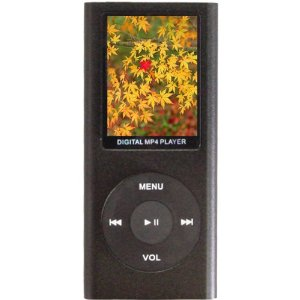 Aio-1.8-inch LCD 4g Mp4 Player-black
