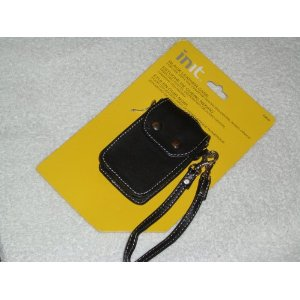 Init Black Leather Case For Creative Zen MP3 Player