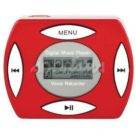 Digital Concepts Clip-on MP3 Player - 512 MB