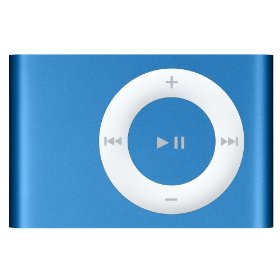 Apple iPod shuffle 2 GB New Bright Blue (2nd Generation) [Previous Model]