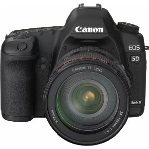 Canon EOS 5D Mark II 21.1MP Full Frame CMOS Digital SLR Camera (Body Only)
