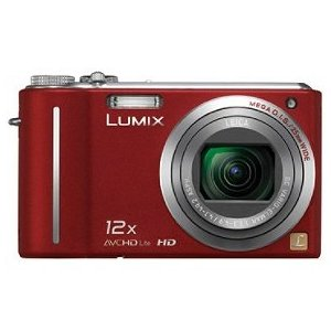 Panasonic Lumix DMC-ZS3 10MP Digital Camera with 12x Wide Angle MEGA Optical Image Stabilized Zoom and 3 inch LCD (Red)