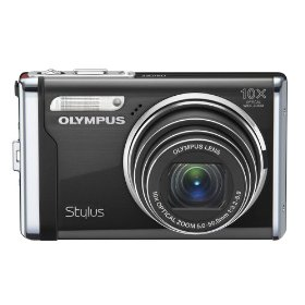 Olympus Stylus 9000 12 MP Digital Camera with 10x Wide Angle Optical Dual Image Stabilized Zoom and 2.7-Inch LCD (Black)