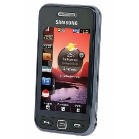 Samsung S5233 Unlocked CellPhone--International Version with No Warranty (Black)