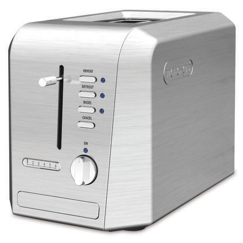 Delonghi cth4003 steel toaster 4slice