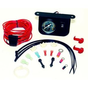 Viair Illuminated Dash Panel Gauge Kit 30 Amp