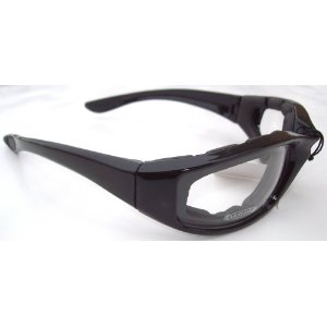 Motorcycle Clear Riding Glasses Sunglasses with Foam