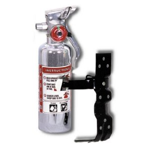 Matrix Fire Extinguisher - Chrome Flame
