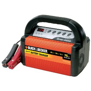 Black & Decker VEC1095ABD Smart Battery 25/10/2 Amp Battery Charger