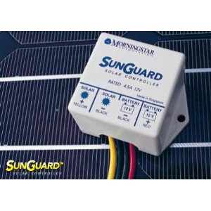 SunGuard SG-4 4.5 amp 12 volt Solar Charge Controller Regulator by Morningstar