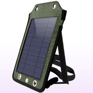 New 6V,830mA Portable Travelling Solar Charger for Cell Phone w/ USB charging cable,GPS,DC,MP3/4