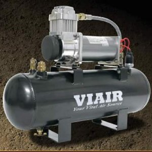 VIAIR VIAIR-20007 2 Gallon Air Source Kit With 380C Air Compressor 55% Duty