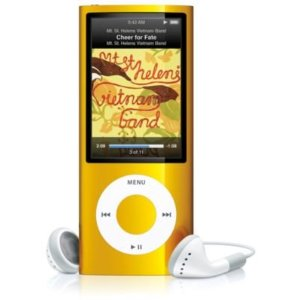 Apple iPod nano - 5th generation - digital player / radio - flash 8 GB - AAC, MP3 - video playback - display: 2.2