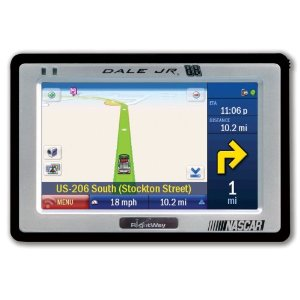 Rightway RW500JR Spotter 4.3-Inch Widescreen Portable GPS Navigator (Dale Earnhardt Jr. Edition)