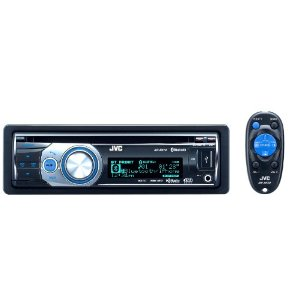 JVC KD-R810 30K Color-Illumination Single-DIN CD Receiver with Dual USB 2.0 for iPod/iPhone and Bluetooth