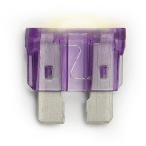 Littelfuse Smart Glow ATO blade-style fuses 2-packs -- 8 sizes available 3-amp