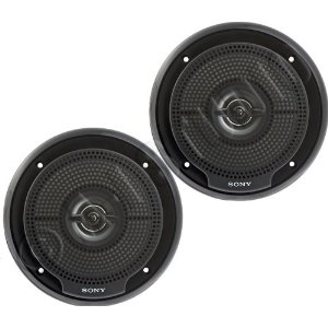 Sony XSMP1620B Marine Speaker, 6.5-Inch Woofer, and 2-Inch Tweeter