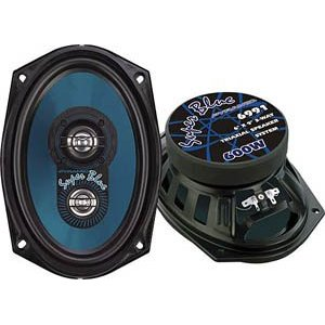 Pyramid 6991 6-Inch x 9-Inch 600 Watts ThreeWay Speakers