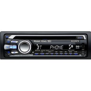 Sony MEXBT3700U CD Receiver Bluetooth Hands-Free with Integrated Microphone (Black)