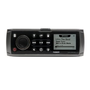 Fusion MS-IP600G iPod/AM/FM/ Sirrus Ready IP65 Rated 3 Zones Stereo Receiver (Grey)