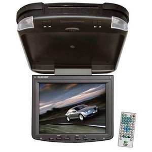 Pyle PLRD103F 10.4-Inch TFT LCD Roof Mount Monitor with Built-In DVD