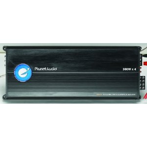 Planet Audio BB4.150 1200 Watts Max Power Four Channel Digital Audiophile Amplifier