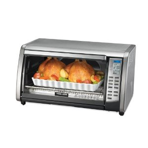 Black & Decker CTO6301 Digital Advantage Stainless-Steel 6-Slice Convection Toaster Oven