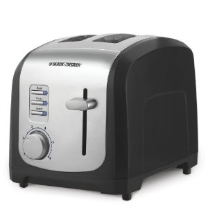 Black & Decker T2030 850-Watt 2-Slice Toaster