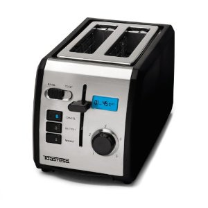 Toastess TT-513 2-Slice Toaster with Digital Countdown Timer