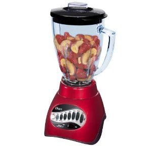 Oster 12-Speed Blender - Metallic Red