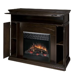 Dimplex DFP6817E Media-Console Electric Fireplace, Espresso