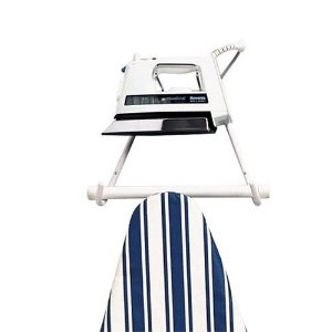 Polder Wall Mounted Ironing Board Hanger, White