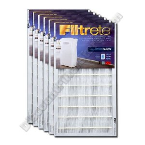 Filtrete FAPF03-6 Ultra Clean Air Purifier Replacement Filter (6-Pack)