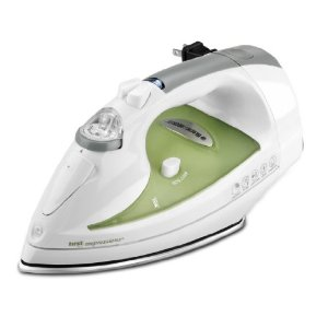 Black & Decker IR008SNA First Impressions Cord Reel Iron, White