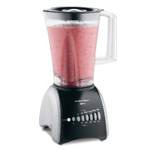 Hamilton Beach 50639R Stay or Go 10-Speed Blender, Black