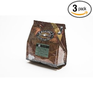 Baronet Coffee Fair Trade Organic Small Village Blend (140 g), 18-Count Coffee Pods (Pack of 3)