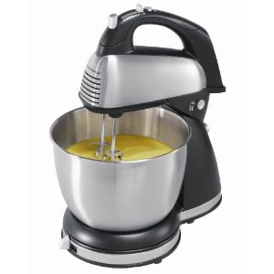 Hamilton Beach Hand/Stand Mixer - Black/ Chrome