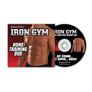Iron Gym Get Ripped Quick Workout Guide DVD!