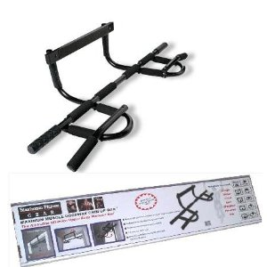 Original Doorway Multifunction All-In-One Chin Up Bar W/ 6 Pack Abs Guide