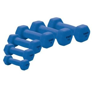 TKO Neoprene Coated Dumbbell - Sold Individually