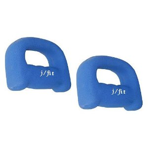 JFit Neoprene Grip Dumbbell Weight Set - 2 lbs