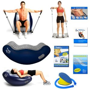 The Bean Elite Combo and Flex 10 Ultimate Abdominal Exerciser
