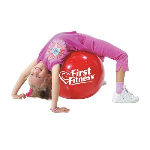First Fitness 18-Inch Exercise Ball