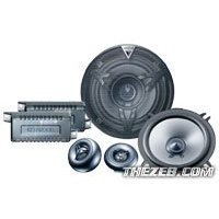 Kenwood KFC P505ie - Car speaker - 45 Watt - 2-way - component - 19mm, 130mm