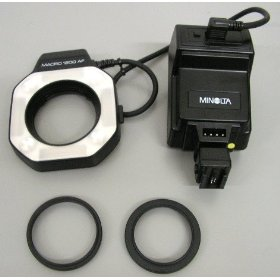 Minolta MACRO 1200 AF Ring Flash with Control Unit