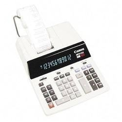 Canon 12-Digit 2-Color Print Calculator - 12 Character(s) - Fluorescent - Power Adapter Powered - 2.62